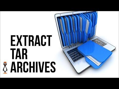 Extracting tar archives