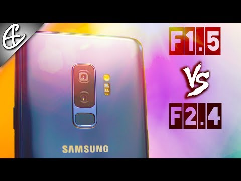 Galaxy S9+ Variable Aperture F1.5 & F2.4 - What's The Difference?