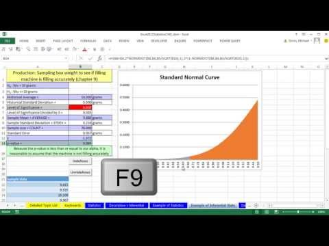 Excel 2013 Statistical Analysis #4: What Is / Are Statistics? Download Stock Data Create Information