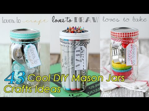 43 DIY Mason Jars Crafts Ideas