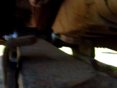 here is a simple way to replace those worn out leaf spring bushings