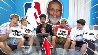 INSANE Guess That NBA Player FACE APP EDITION