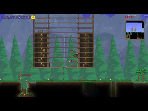 How to destroy walls in background - Terraria