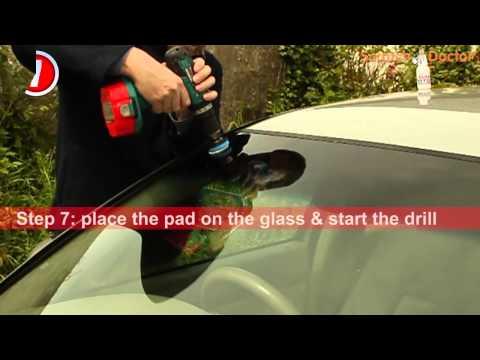Scratch Doctor Windscreen Glass Scratch Repair Instruction Video