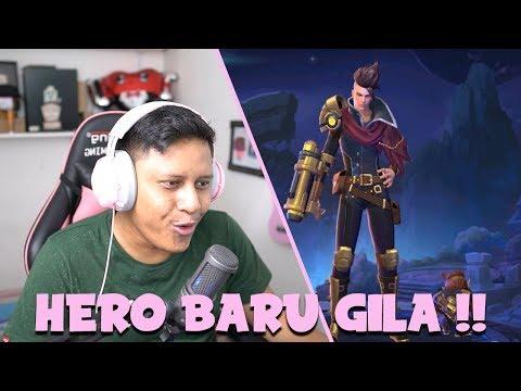 HERO BARU GILAK WKWKWKW BURST DAMAGE BANGET !!