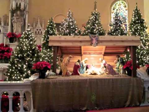 Holy Trinity Nativity Scene