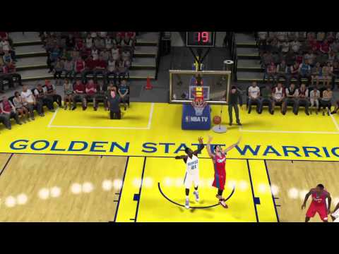 NBA 2k15 Alley Oop One Hand Finish