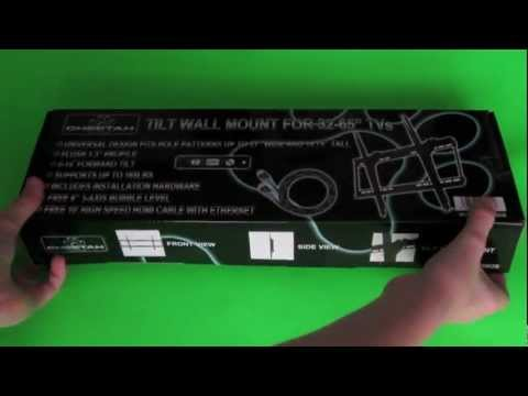 Cheapest TV Wall Mount Unboxing (Cheetah 32