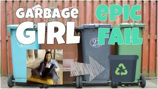 Garbage girl epic fail 🔸7 second of happiness FUNNY Video | June 2017 | #376