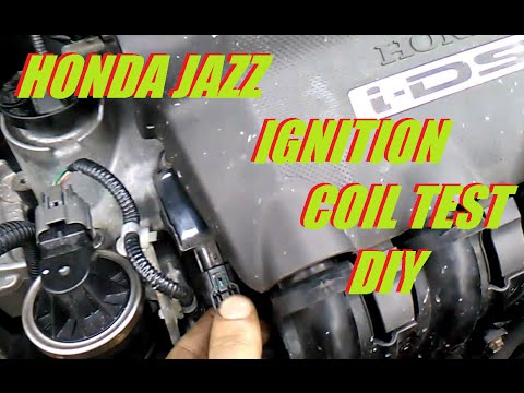 Honda Jazz [ Fit ] Ignition Coil Test - Twin Spark Engine I-DSI