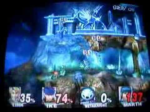 Super Smash Bros Brawl Gameplay Video: Spear Pillar PokemStg