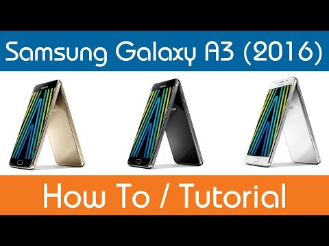 How To Set Up A Mobile Hotspot- Samsung Galaxy A3