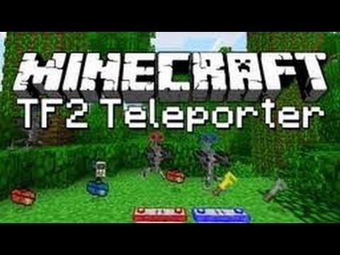 Minecraft 1.4.7-Como instalar TF2 TELEPORTER MOD-TUTORIAL -ESPAÑOL