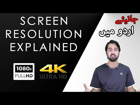What is Screen Resolution and PPI? Explained in Urdu/Hindi