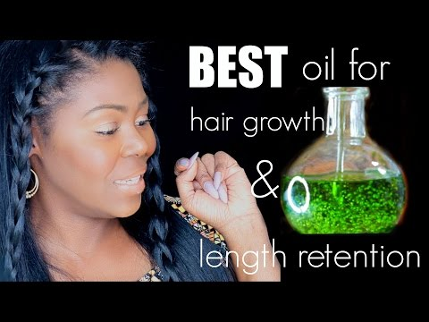 #1 Oil for hair growth and LENGTH RETENTION