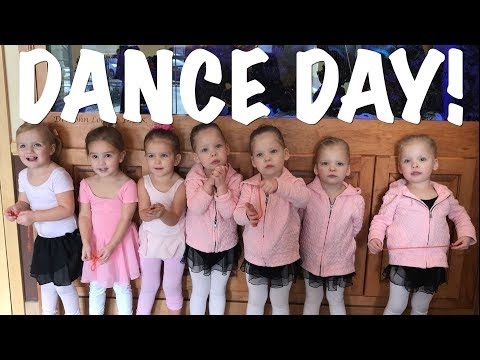 💃 HAZY JOINS THE GARDNER QUAD SQUAD QUADRUPLETS GIRLS DANCE CLASS! 😍