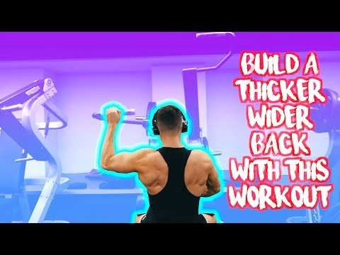 THE ULTIMATE BACK WORKOUT FOR WIDTH AND THICKNESS | BUILD THAT COBRA BACK | SETS, REPS AND EXERCISES