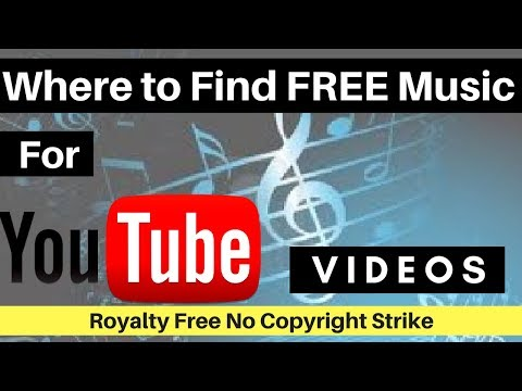 Where To Find Free Royalty Free Music For YouTube Videos