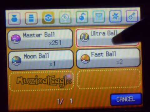 Pokemon SoulSilver Cheat 5: Level and Pokemon Modifier