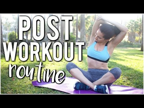My Post Workout Routine + Tips!