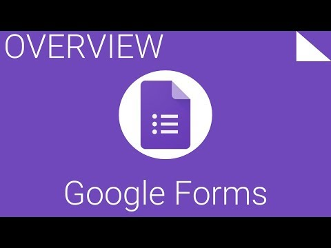 How to Create, Edit and Share with Google Forms