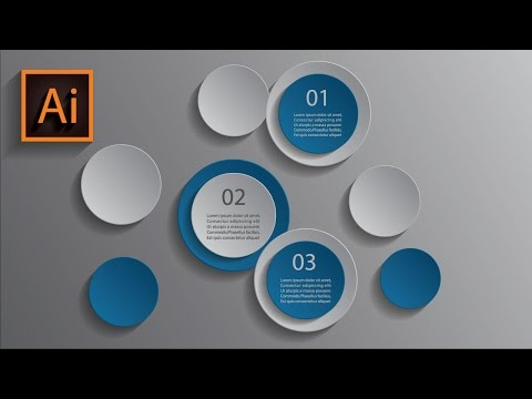 Illustrator CC Tutorial 3D Graphic Design Infographic Design template 4k ultra hd