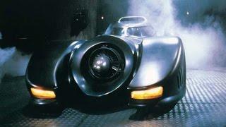 Batmobile scenes сut   Batman 1989