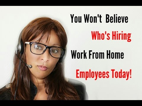 Work From Home As An Executive Assistant or Parking Ticket Rep