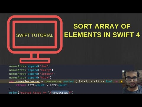 Sort array in swift 4
