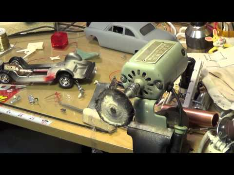 What do sewing machines and model cars have in common?