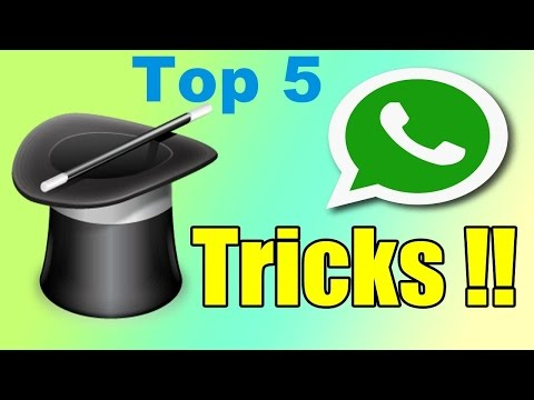 Top 5 WhatsApp Tricks and Features you NEED to know [2016]