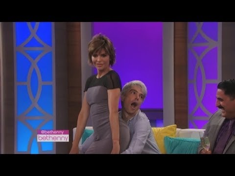 Lisa Rinna's Lap Dance Surprise
