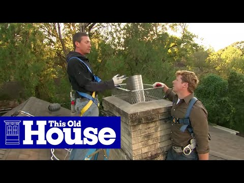 How to Install a Chimney Liner and Damper - This Old House