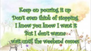 Jessica Mauboy - Pop a Bottle (Fill me up) Lyric Video