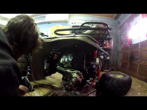 atv starter just clicks how to replace a solenoid and diagnose it