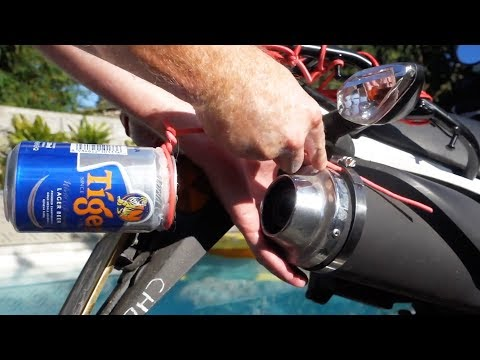 DIY Exhaust Mods to Change the Sound on Any Normal Motorbike
