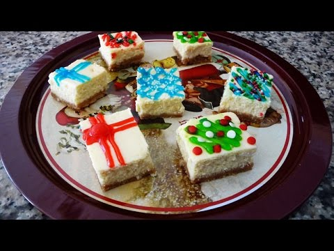 Xmas Cheesecake, Easy Recipe,