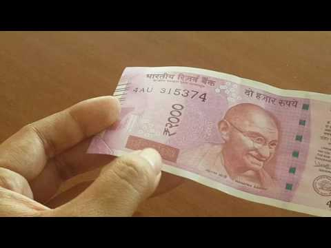 How to identify fake Rs 2,000 currency notes from real ones!