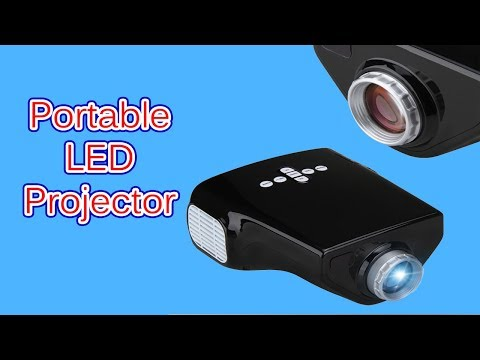 Portable LED projector |Unboxing &  review