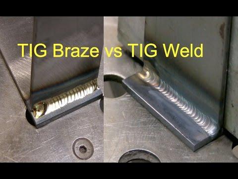 Tig Brazing vs Tig Welding