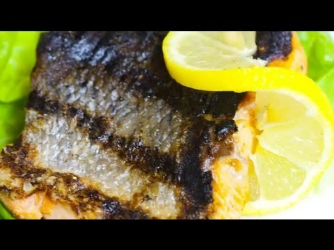 How to Grill Salmon With the Skin On : Savory Flavors