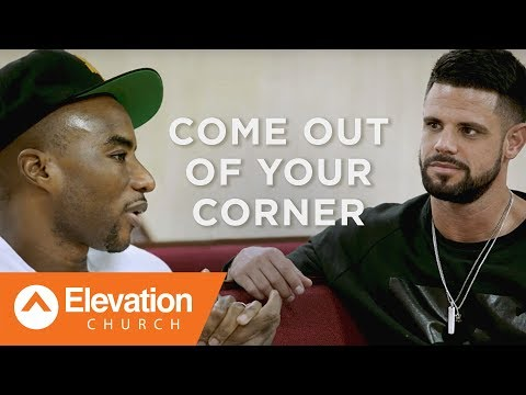 Come Out of Your Corner:  A Candid Conversation with Pastor Steven Furtick and Charlamagne tha God