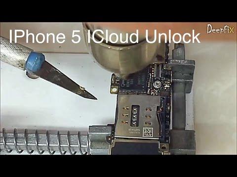IPHONE 5 ICloud Unlock in Hardware