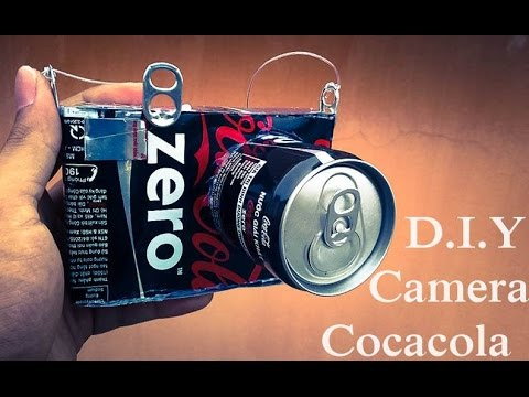 DIY - How To Make Camera Using Coca Cans - Reuse Crafts