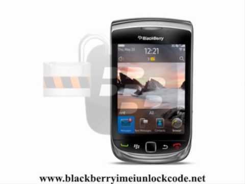 How To Get Optus Blackberry Torch 9800 MEP / IMEI  / Network Unlock Codes (Australia)