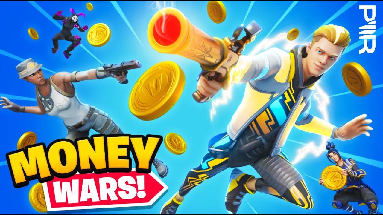 Fortnite Money Wars PWR Tournament! ($$$)