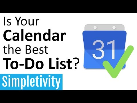 Is Your Calendar the Best To-Do List? (How to Add Tasks)