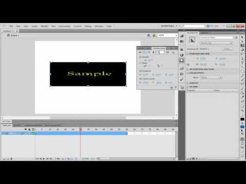 How to Create Zoom Effect in Adobe Flash