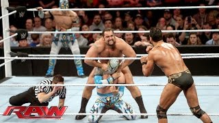 The Lucha Dragons vs. Rusev & Alberto Del Rio: Raw, February 8, 2016