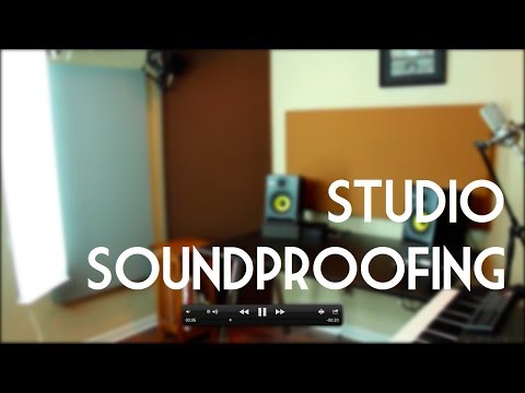 Inside my studio: soundproofing